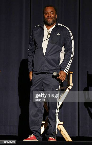 """Writer/Director Lee Daniels attends """"The Paperboy"""" Q&A with Nicole Kidman at Harmony Gold Theatre on November 24, 2012 in Los Angeles, California."""