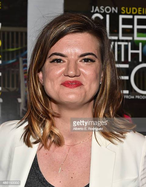 Writer/director Leslye Headland attend the Tastemaker screening of IFC Films' Sleeping With Other People on August 24 2015 in Los Angeles California