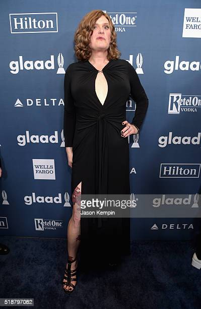 Writer/Director Lilly Wachowski attends the 27th Annual GLAAD Media Awards at the Beverly Hilton Hotel on April 2 2016 in Beverly Hills California