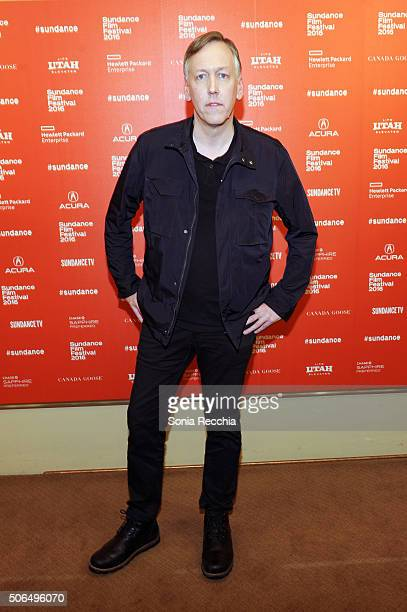 Writer/director Lodge Kerrigan attends 'The Girlfriend Experience' Premiere during the 2016 Sundance Film Festival at Egyptian Theatre on January 23...