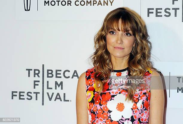Writer/director Lorene Scafaria attends the 2016 Tribeca Film Festival The Meddler premiere at John Zuccotti Theater at BMCC Tribeca Performing Arts...