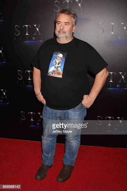 Writer/Director Luc Besson at CinemaCon 2017 The State of the Industry Past Present and Future and STX Films Presentation at The Colosseum at Caesars...