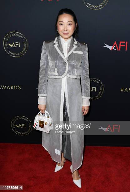 Writer/director Lulu Wang attends the 20th Annual AFI Awards at Four Seasons Hotel Los Angeles at Beverly Hills on January 03 2020 in Los Angeles...