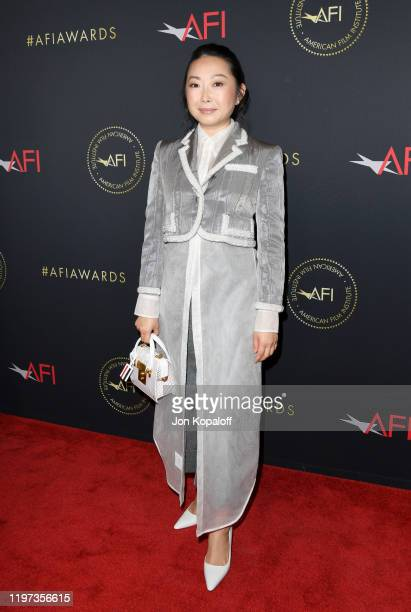 Writer/director Lulu Wang attends the 20th Annual AFI Awards at Four Seasons Hotel Los Angeles at Beverly Hills on January 03, 2020 in Los Angeles,...
