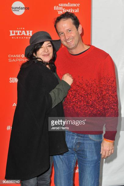 Writer/Director Lynne Ramsay and Director of Programming Sundance Film Festival Trevor Groth attend the 'You Were Never Really Here' Premiere during...