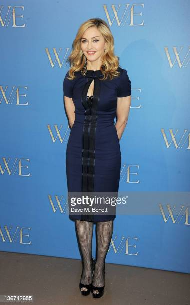 Writer/Director Madonna attends a photocall to promote the new film 'W.E.' at the London Studios on January 11, 2012 in London, United Kingdom.