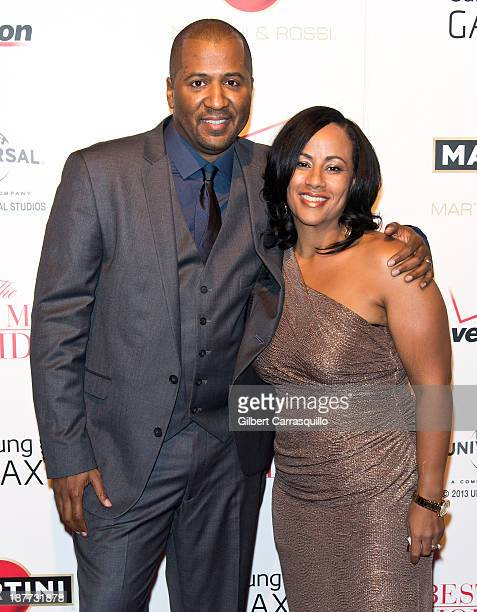 Writer/director Malcolm D Lee and wife Camille Lee Lee attend The Best Man Holiday screening at Chelsea Bow Tie Cinemas on November 11 2013 in New...