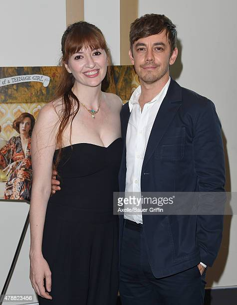 Writer/director Marielle Heller and actor Jorma Taccone arrive at the 2015 Los Angeles Film Festival premiere of 'The Diary of a Teenage Girl' at...