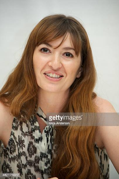 WriterDirector Marielle Heller at The Diary Of A Teenage Girl Press Conference at the Four Seasons Hotel on July 27 2015 in Beverly Hills California