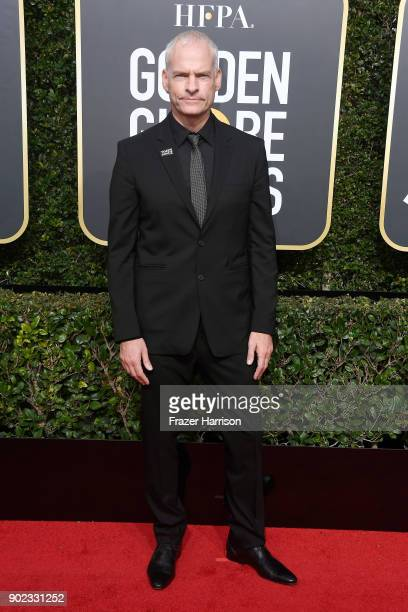Writer/director Martin McDonagh attends The 75th Annual Golden Globe Awards at The Beverly Hilton Hotel on January 7 2018 in Beverly Hills California
