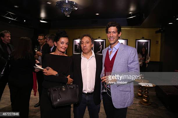 Writer/Director Mary McGuckian Architecture and Design Film Festival founder/director Kyle Bergman and Documentary filmmaker Marco Orsini attend THE...