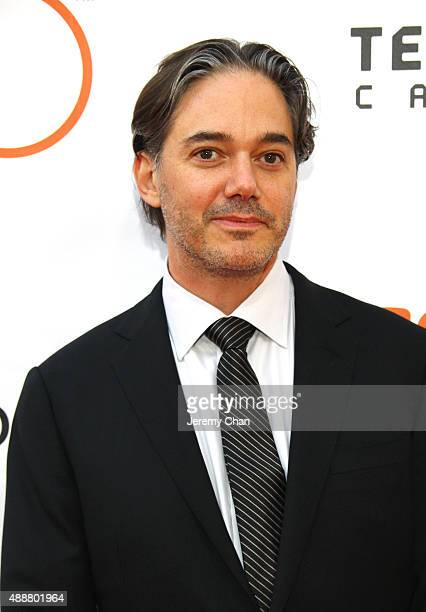 Writer/Director Matt Brown attends the 'The Man Who Knew Infinity' premiere during the 2015 Toronto International Film Festival at Roy Thomson Hall...
