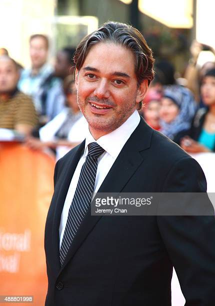 """Writer/Director Matt Brown attends the """"The Man Who Knew Infinity"""" premiere during the 2015 Toronto International Film Festival at Roy Thomson Hall..."""
