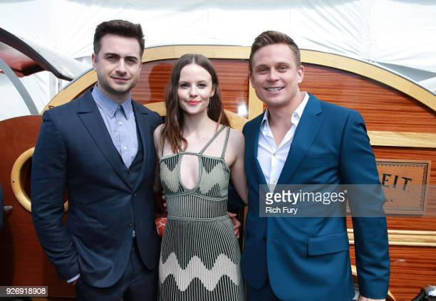 Writer/Director Matt Spicer and actors Sarah Ramos and Billy Magnussen attend the 2018 Film Independent Spirit Awards on March 3 2018 in Santa Monica...