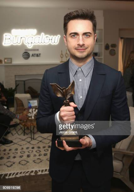 Writerdirector Matt Spicer winner of the Best First Feature award for 'Ingrid Goes West' poses at the DIRECTV BUNGALOW presented by ATT at the 2018...