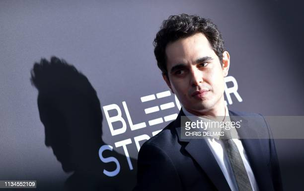 Writer/director Max Minghella arrives for the Los Angeles special screening of Teen Spirit at the Arclight on April 2 2019 in Hollywood