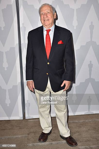 Writerdirector Mel Brooks arrives at The Academy of Motion Picture Arts and Sciences Celebrates 40th Anniversary of Young Frankenstein with Mel...