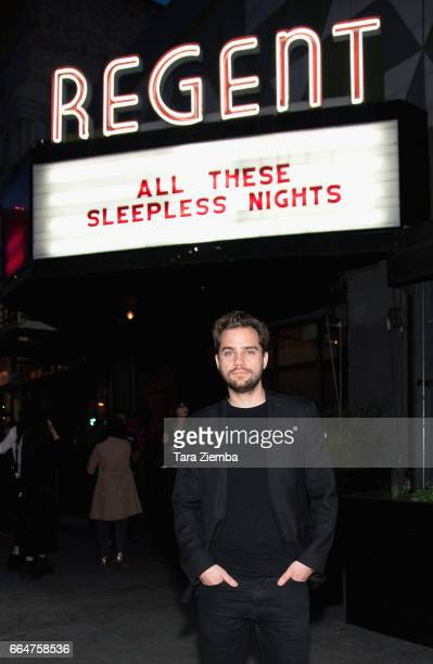Writer/director Michal Marczak attends the premiere of The Orchard's 'All These Sleepless Nights' at the Regent Theater on April 4 2017 in Los...