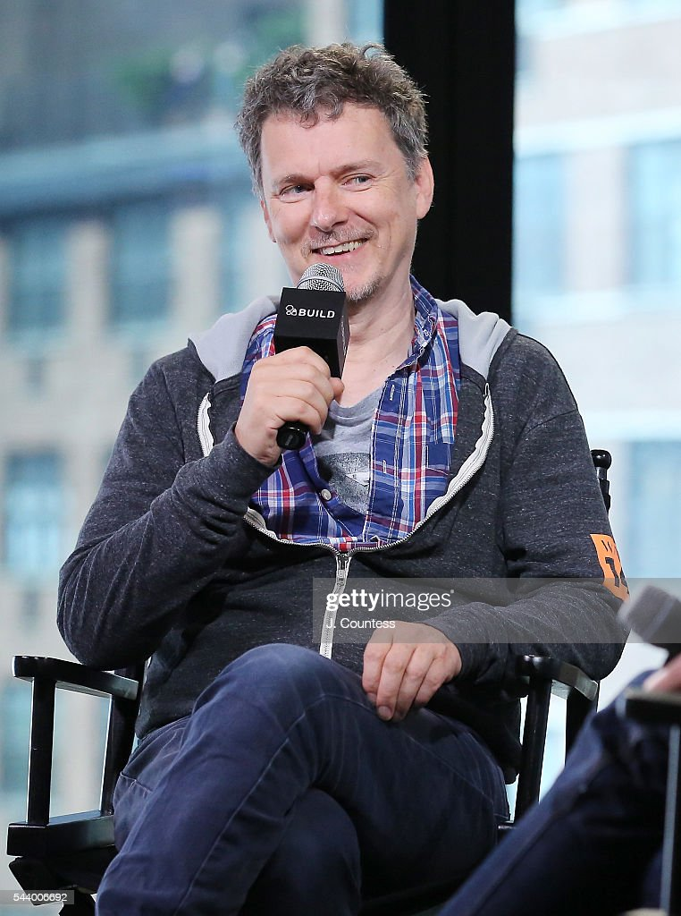 Writer/director Michel Gondry attends the AOL Build Series to discuss his new film 'Microbe And Gasoline' at the AOL Studios In New York on June 30, 2016 in New York City.