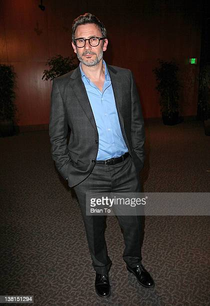 Writer/Director Michel Hazanavicius attends the Weinstein Company hosts special screening Of 'The Artist' at Directors Guild Of America on February 2...