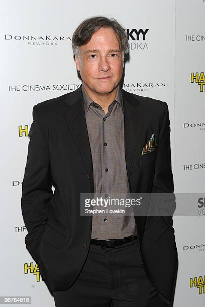Writer/Director Mitchell Lichtenstein attends a screening of Happy Tears hosted by the Cinema Society and Donna Karan at The Museum of Modern Art on...