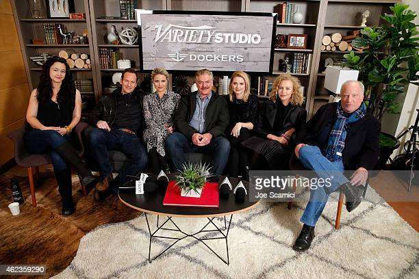 Writer/director Mora Stephens and actors Patrick Wilson Dianna Agron Alexandra Breckenridge Penelope Mitchell and Richard Dreyfuss attend The Variety...