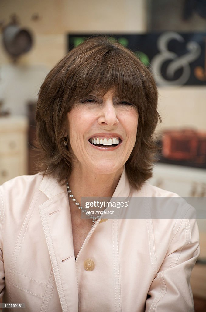 Writer/director Nora Ephron at the 'Julie & Julia' press conference at the Four Seasons Hotel on July 27, 2009 in Beverly Hills, California.