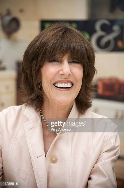 """Writer/director Nora Ephron at the """"Julie & Julia"""" press conference at the Four Seasons Hotel on July 27, 2009 in Beverly Hills, California."""
