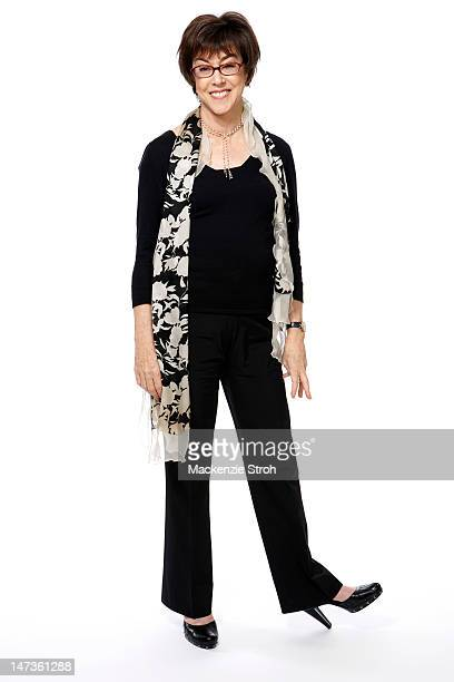 Writer/director Nora Ephron is photographed for New York Times on April 25, 2007 in New York City.
