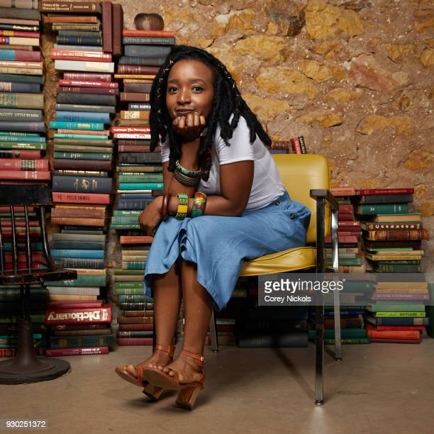 Writer/Director Nosipho Dumisa from the film 'Number 37' poses for a portrait in the Getty Images Portrait Studio Powered by Pizza Hut at the 2018...