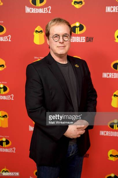 Writer/director of Incredibles 2 Brad Bird attends Incredibles Day as Influencers from around the world celebrate with fun activities inspired by...