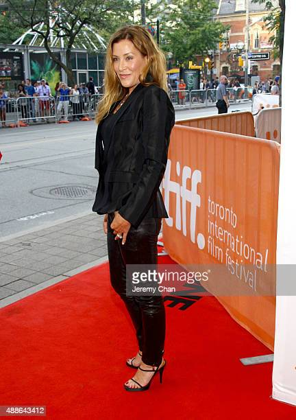 Writer/Director Paige Dylan attends the I Smile Back premiere during the 2015 Toronto International Film Festival at Princess of Wales Theatre on...