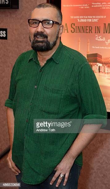 Writer/director Parvez Sharma attends 'A Sinner In Mecca' New York Premiere at Cinema Village on September 4 2015 in New York City