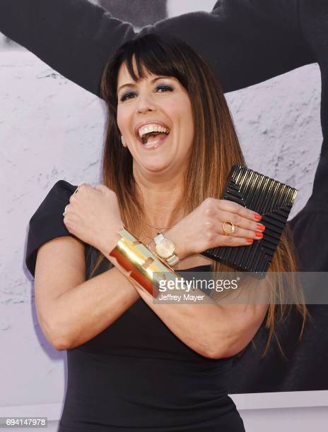 WriterDirector Patty Jenkins arrives at the AFI Life Achievement Award Gala Tribute To Diane Keaton at the Dolby Theater on June 8 2017 in Hollywood...