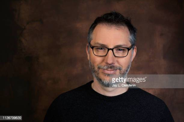 Writer/director Paul Harrill from 'Light from Light' is photographed for Los Angeles Times on January 28 2019 at the 2019 Sundance Film Festival in...