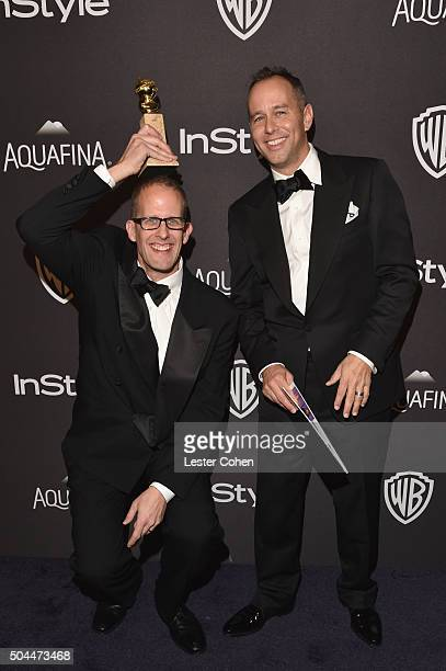 Writer/director Pete Docter and producer Jonas Rivera attend InStyle and Warner Bros 73rd Annual Golden Globe Awards PostParty at The Beverly Hilton...