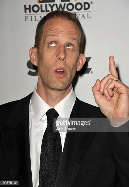 Writer/director Pete Docter arrives at the 13th annual Hollywood Awards Gala Ceremony held at The Beverly Hilton Hotel on October 26 2009 in Beverly...