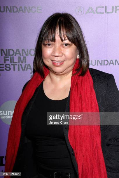 """Writer/Director Ramona S. Diaz attends the """"A Thousand Cuts"""" Premiere during the 2020 Sundance Film Festival at Egyptian Theatre on January 25, 2020..."""