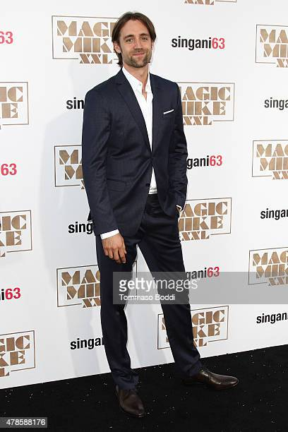 Writer/Director Reid Carolin attends the Los Angeles world premiere of Warner Bros Pictures' Magic Mike XXL held at TCL Chinese Theatre IMAX on June...
