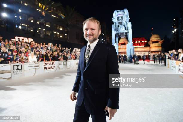 Writer/Director Rian Johnson at the world premiere of Lucasfilm's Star Wars The Last Jedi at The Shrine Auditorium on December 9 2017 in Los Angeles...
