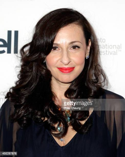 Writer/director Ruba Nadda attends the October Gale premiere during the 2014 Toronto International Film Festival at Winter Garden Theatre on...