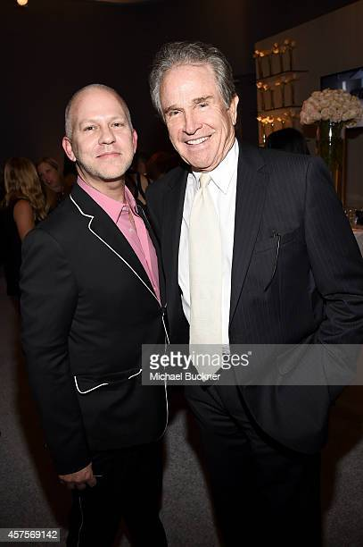 Writer/director Ryan Murphy and actor Warren Beatty attend ELLE's 21st Annual Women in Hollywood Celebration at the Four Seasons Hotel on October 20...