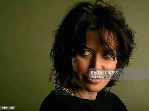 Writer/director Sabina Guzzanti of the film Viva Zapatero poses for a portrait at the Getty Images Portrait Studio during the 2006 Sundance Film...