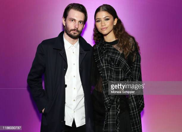 Writer/director Sam Levinson and actress/singer Zendaya attend the New York screening of HBO's Euphoria on June 14 2019 in New York City