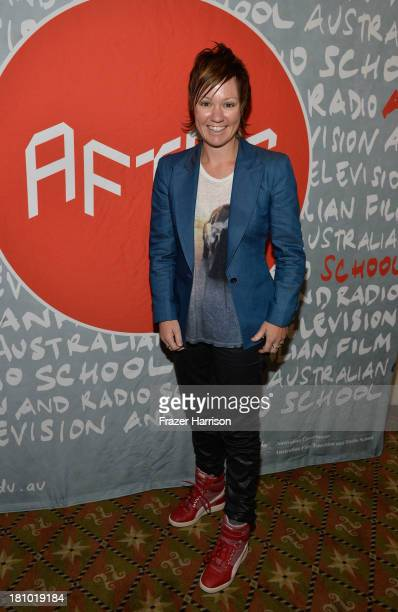 "Writer/Director Sarah Spillane attends the Australians In Film Screening Of ""Around The Block at Raleigh Studios on September 18, 2013 in Los..."