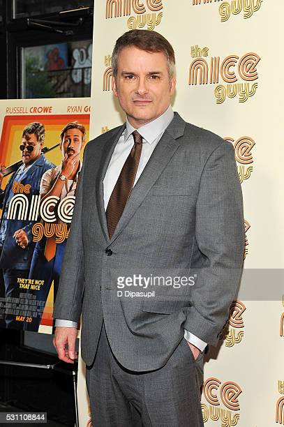 Writer/director Shane Black attends The Nice Guys New York screening at Metrograph on May 12 2016 in New York City