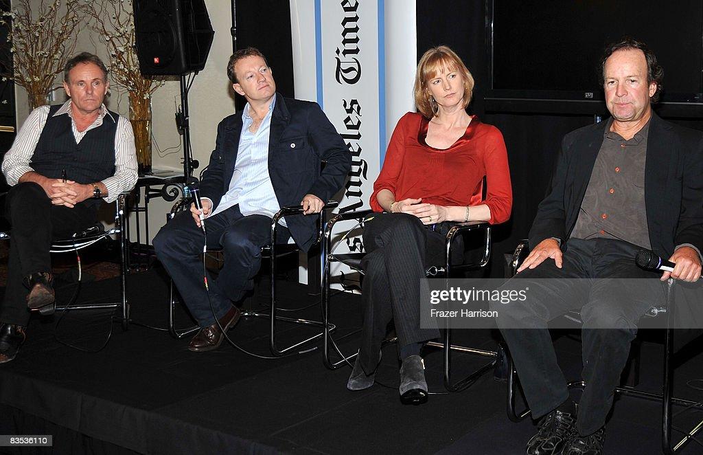 Afi fest 2008 panel bold adaptations meet the screenwriters writerdirector simon beaufoy moderator producer joe pichirallo writer melissa rosenberg m4hsunfo