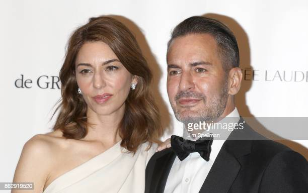 Writer/director Sofia Coppola and designer Marc Jacobs attend the 2017 American Ballet Theatre Fall gala at David H Koch Theater at Lincoln Center on...
