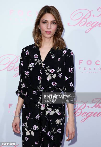 """Writer/director Sofia Coppola attends the premiere of Focus Features' """"The Beguiled"""" at the Directors Guild of America on June 12, 2017 in Los..."""