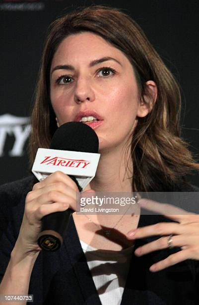 Writer/director Sofia Coppola attends Variety's Los Angeles Screening Series presentation of 'Somewhere' at ArcLight Cinemas on December 8 2010 in...